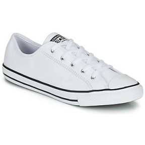 Xαμηλά Sneakers Converse CHUCK TAYLOR ALL STAR DAINTY GS LEATHER OX ΣΤΕΛΕΧΟΣ: Δέρμα & ΕΠΕΝΔΥΣΗ: Ύφασμα & ΕΣ. ΣΟΛΑ: Ύφασμα & ΕΞ. ΣΟΛΑ: Καουτσούκ