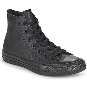 Ψηλά Sneakers Converse CHUCK TAYLOR ALL STAR MONO HI ΣΤΕΛΕΧΟΣ: Δέρμα & ΕΠΕΝΔΥΣΗ: Ύφασμα & ΕΣ. ΣΟΛΑ: Ύφασμα & ΕΞ. ΣΟΛΑ: Καουτσούκ