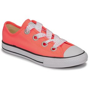 Xαμηλά Sneakers Converse CTAS BIG EYELET OX LAVA GLOW/WHITE/BLACK