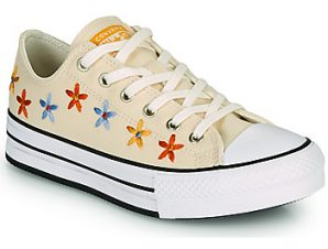 Xαμηλά Sneakers Converse CHUCK TAYLOR ALL STAR EVA LIFT SPRING FLOWERS OX ΣΤΕΛΕΧΟΣ: Ύφασμα & ΕΠΕΝΔΥΣΗ: Ύφασμα & ΕΣ. ΣΟΛΑ: Ύφασμα & ΕΞ. ΣΟΛΑ: Καουτσούκ