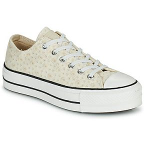 Xαμηλά Sneakers Converse CHUCK TAYLOR ALL STAR LIFT CANVAS BRODERIE OX ΣΤΕΛΕΧΟΣ: Φυσικό ύφασμα & ΕΞ. ΣΟΛΑ: Καουτσούκ