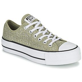 Xαμηλά Sneakers Converse CHUCK TAYLOR ALL STAR LIFT BREATHABLE OX ΣΤΕΛΕΧΟΣ: Φυσικό ύφασμα & ΕΞ. ΣΟΛΑ: Καουτσούκ