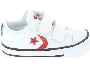 Xαμηλά Sneakers Converse Star Player 2V BB Blanc Rouge