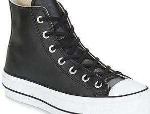 Ψηλά Sneakers Converse CHUCK TAYLOR ALL STAR LIFT CLEAN LEATHER HI ΣΤΕΛΕΧΟΣ: Δέρμα & ΕΠΕΝΔΥΣΗ: Ύφασμα & ΕΣ. ΣΟΛΑ: Ύφασμα & ΕΞ. ΣΟΛΑ: Καουτσούκ